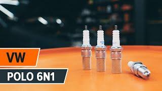 Montering Tändstift VW POLO (6N1): gratis video