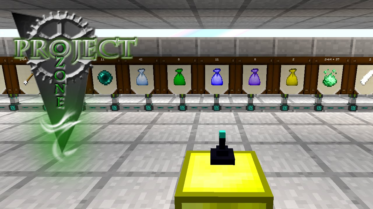 Minecraft Mods Project Ozone - LOOT SORTING [E12] (Modded HQM Sky Block)