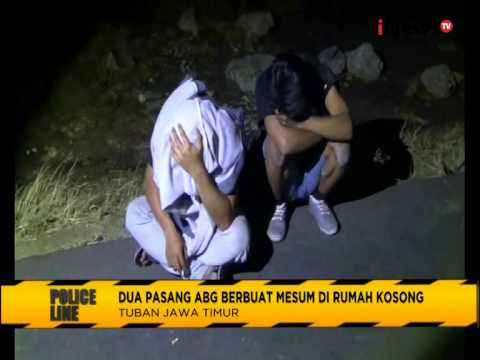 Dua Pasang ABG Digrebek Warga Saat Mencoba Mesum - Police Line 27/07