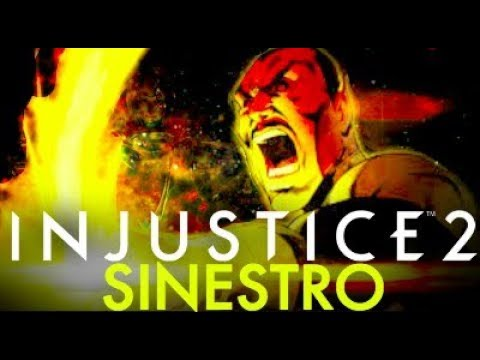 Injustice 2 What Happened To Sinestro?!