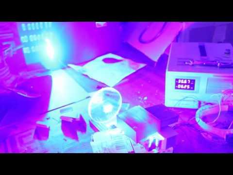 Destroying Stuff with MASSIVE 50W Blue Laser Array!!!