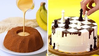 Making Easy Dessert Recipes | How To Make Cake Decorating Ideas | So Yummy Cake Tutorials