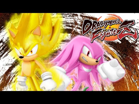 SONIC VS KNUCKLES!! Sonic & Knuckles play Dragonball Fighterz  