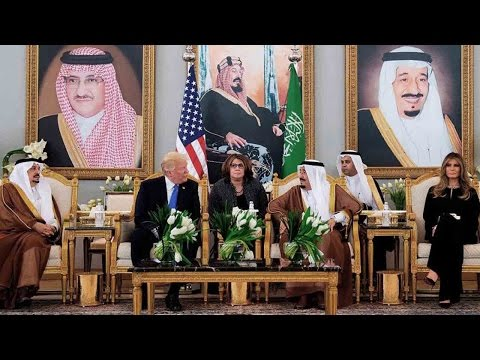 US president signs arms deal worth 110 billion USD with Saudi Arabia
