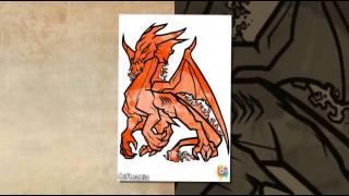 Dibujos para Colorear de Dragones - www.dibujosparacolorearmania.com