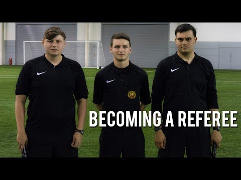 Nike Referee Interview | Getting Qualified | How To Deal With Pressure