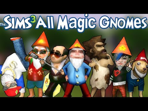 The Sims 3: All Magic Gnomes and How to Find Them