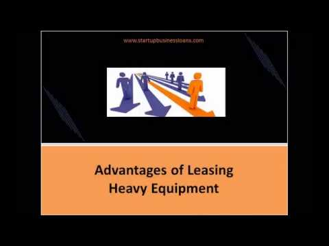 Deal With Your Business Financing Needs with Heavy Equipment Leasing