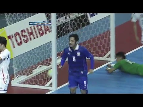 CHINESE TAIPEI v THAILAND: AFC Futsal Championship 2016 (Group Stage)