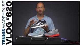 Sneak peek new adidas tennis shoe colors! + Rare Bosworth Racquets -- VLOG #620