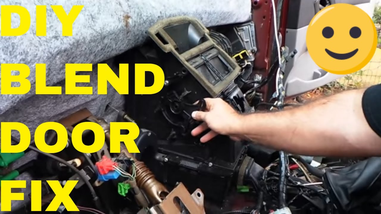 Ford Focus Stuck Hvac Door Repair Youtube