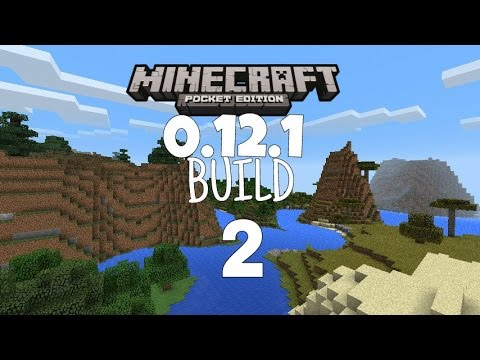 Minecraft PE 0.12.1 Build 2 Para Android 2.3.6