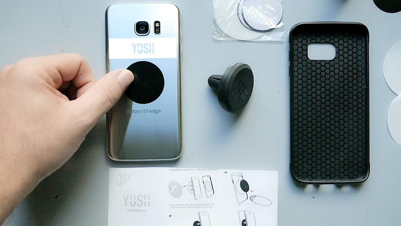 YOSH - Magnetic Phone Holder Car Mount - Review
