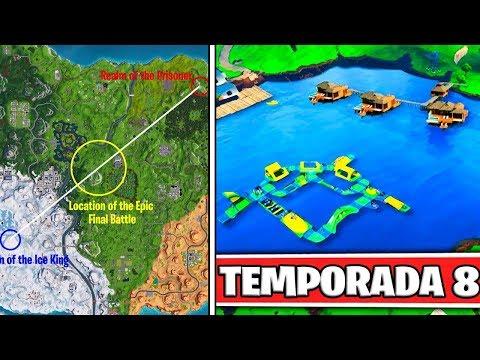 """NUEVA CIUDAD EN EL MAPA """"FILTRADA"""" ?? FORTNITE TEMPORADA 8"""