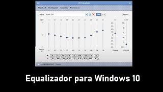 Como adicionar um equalizador no Windows screenshot 3
