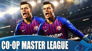 PES 2019 - New Co-Op Master League Season Begins
