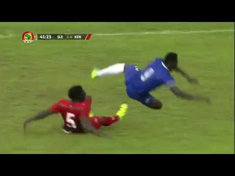 Sierra Leone 2 1 Kenya highlights and goals