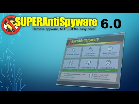 SUPERAntiSpyware 6.0 Review