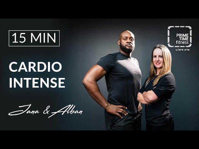Cardio Intense mit Alban & Jana - Ausdauer trainieren - Abnehmen