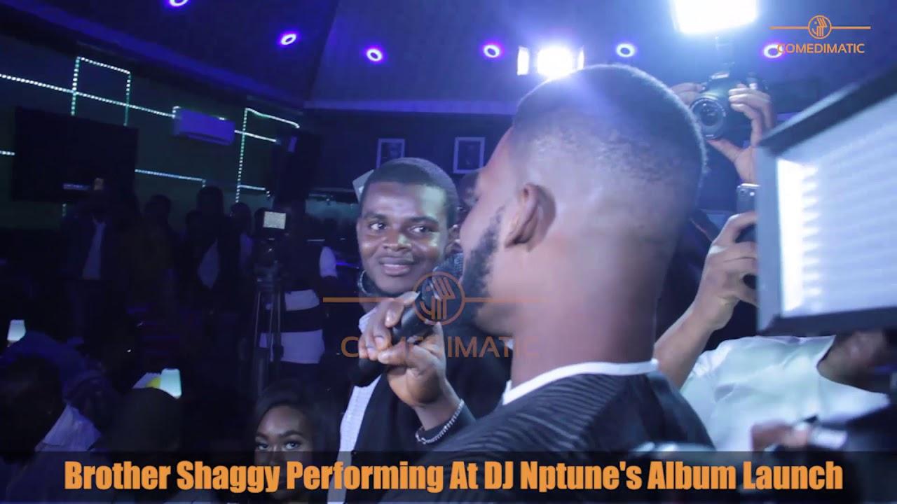Broda Shaggy Performing At DJ Neptune's Album Listening  Party