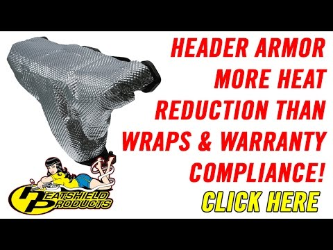 Header Armor - Better than any 1800F Wrap and Warranty Compliance