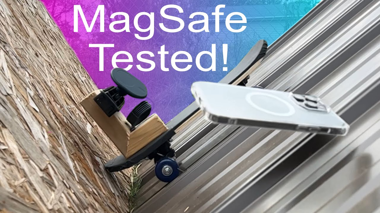 Crash testing popular MagSafe car vent mounts for iPhone 12 and iPhone 13