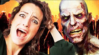 GAMER GIRL GETS SCARRED FOR LIFE ON BLACK OPS 2 ZOMBIES!