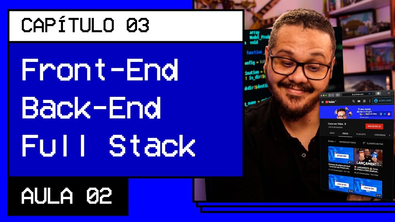 Front-end, Back-end and Full stack - @ HTML5 and CSS3 Video Course
