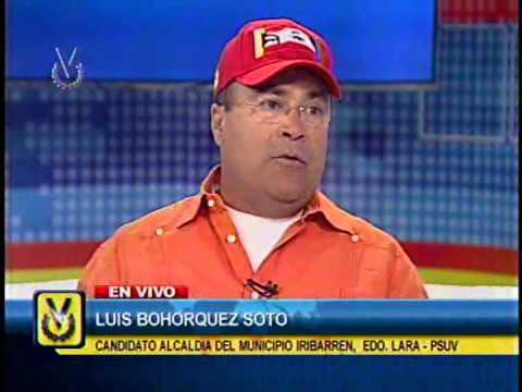 Entrevista Venevisión: Luis Bohorquez Soto, Candidato A La Alcaldía De Iribarren-Lara