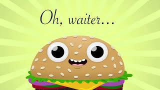 I'd Like A Hamburger - Parry Gripp - Artwork by Nathan Mazur