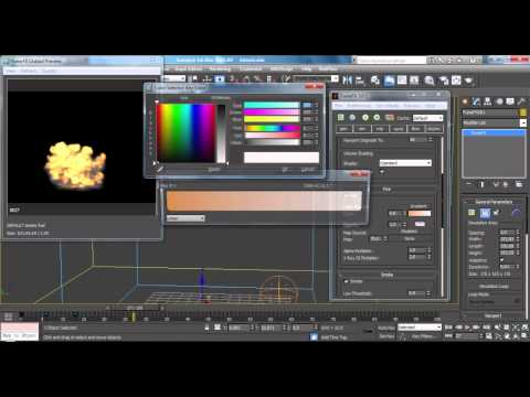 Advanced CGI Explosion Tutorial(PROJECT FILE), Fumefx, Particle Flow - 3ds max, After Effects