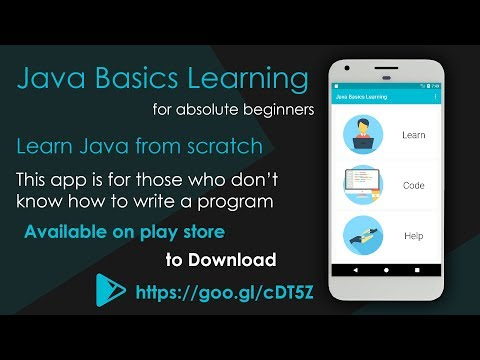 Java Basics Learning : Java for Absolute Beginners - Apps on
