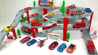 Carros de Carrera para Niños - Pista de Coches de Carreras - Videos Infantiles