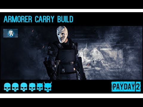 payday 2 armorer carry build and gameplay rats day 1 one. Black Bedroom Furniture Sets. Home Design Ideas