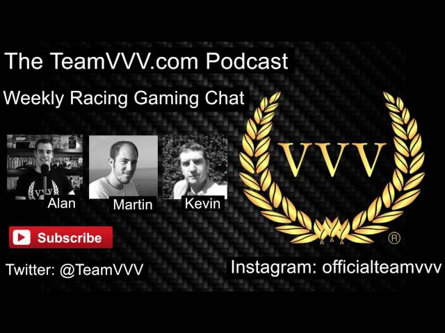 Team VVV Podcast 10, Gamescom, Forza Horizon 3, Ride 2, WRC 6, The Crew