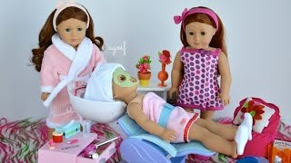 American Girl Doll Spa Day