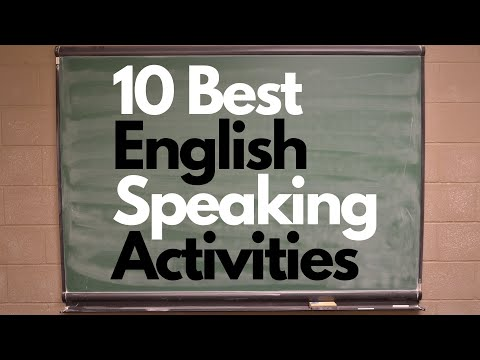 Speaking Activities for ESL: 10 Best Speaking Activities every Teacher should Know