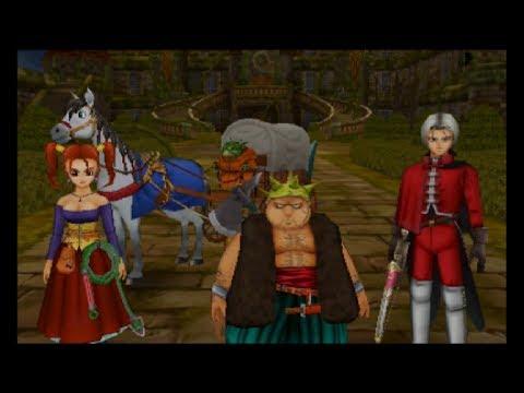 Dragon Quest VIII [3DS] Commentary #069, Castle Trodain: Liquid Metal Slimes (1/3)