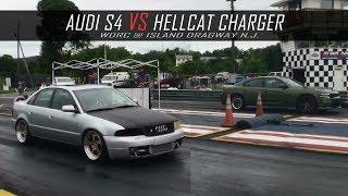 Audi S4 vs Hellcat Charger