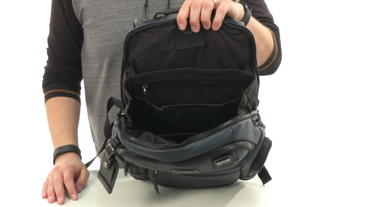 6c0a8955e Tumi Alpha Bravo Knox Leather Backpack Review | Sante Blog