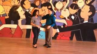 Hustle dance lesson free spin double turns