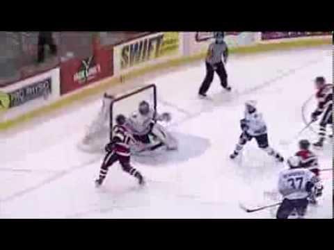 Travis Konecny Dangles Then Scores Great Goal vs Oshawa (12/10/13)