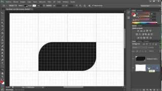 Photoshop Creando Esquinas Redondeadas 02 Usando las Herramientas de Rectángulos
