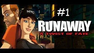Runaway Twist of fate - HD - FR - walkthrough - chapitre 1