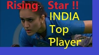 [TT Women] (PART 2) INDIA defender BATRA(Rare) BH Long Pips(Deuce Fight)