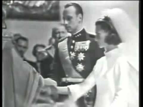 1968   HM King Harald V & HM Queen Sonja of Norway