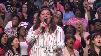 TaRanda - HE'S BEEN FAITHFUL performed live at Brooklyn Tabernacle