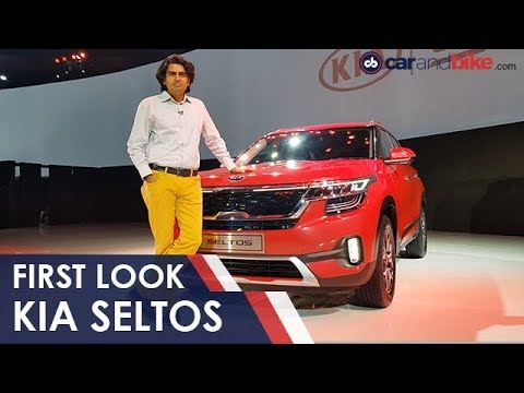 Kia Seltos First Look | NDTV Carandbike