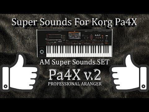 Korg Pa Sounds For Pa4X Pa1000