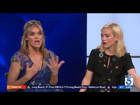 Missi Pyle and Maddie Hasson Explain The Difference Between Time Travel And Teleportation